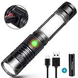 LED Taschenlampe USB Wiederaufladbare Superhelle...