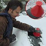 Gaddrt Schneeschaufel Kratzen Sie EIN rundes...
