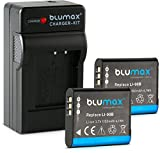 Blumax 2X Akku für Olympus Li-90b/Li-92b 1100mAh...