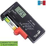 TAKIT Batterietester Digital Für AA, AAA, C, D,...