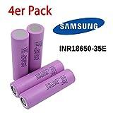 Samsung INR18650-35E Akku - 3500mAh 3.7V 18650 -...