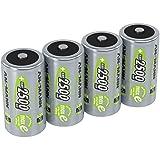 ANSMANN Akku Batterien Baby C 2500mAh 1,2V -...