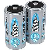ANSMANN Akku Batterien Baby C 4500mAh 1,2V -...