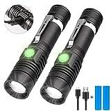 LED Taschenlampe USB Wiederaufladbar, Karrong...