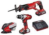 Einhell Maschinen/Werkzeug-Set TE-TK 18 Li Power...
