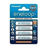 Panasonic eneloop, Ready-to-Use Ni-MH Akku, AA...