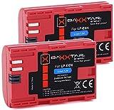 Baxxtar PRO II - Ersatz für Akku Canon LP-E6N...