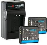 Blumax 2X Akku für Olympus Li-90b / Li-92b...