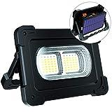 ERAY LED Baustrahler Akku 80W, LED Arbeitsleuchte...