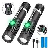 Taschenlampe LED USB Aufladbar, Karrong Zoom...