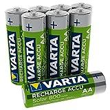 VARTA Recharge Accu Solar AA Mignon Ni-Mh Akku...